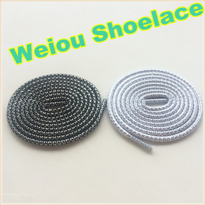 (30 pairs /Lot)Weiou Casual Sports Shoelaces Round Sneaker Shoes Laces Running Shoelace Athletic Shoe Laces Strings 125cm/49