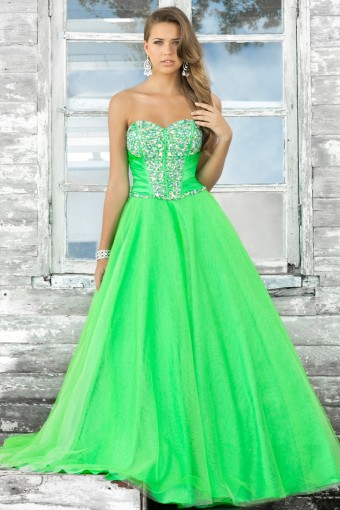 2016 Hot Sale Prom Dress Mint Green Off The Shoulder With Crystal ...
