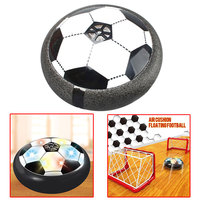 Relefree Child Electric Hover Ball With Football Goal Gate Air Power Soccer Disc Hovering Gliding Ball