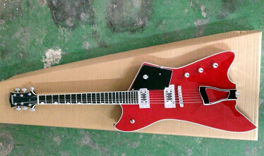 wholesale&Retail top quality factory custom G6199 Billy-Bo Jupiter Gretsch large rocker Red electric guitar 5-13