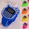 Matemática educacional Toy Crianças Silicone Data Multi-função Calculadora Crianças Relógio de Pulso Crianças Brinquedos Aprendizagem Educação Toy FCI #