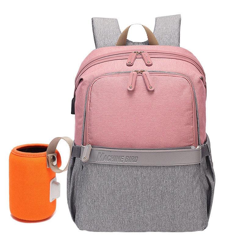 grey pink