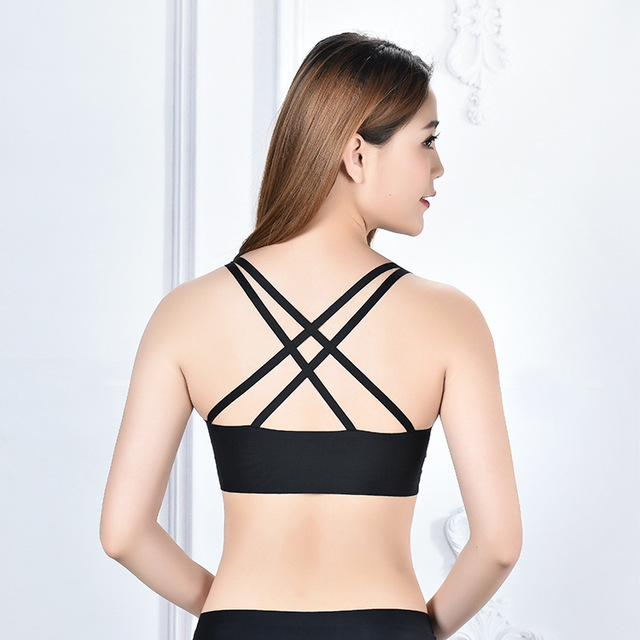 970076c7e2a5e Criss Cross Tube Top Modal Solid Bralette Cropped For Women T Shirt Tube  Top Soft Bra Bandeau Top Cotton Breathable