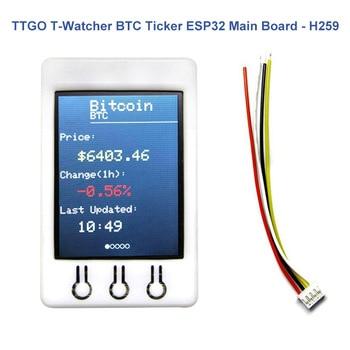 TTGO T Watcher BTC Ticker ESP32 2.2Inch 320X240 TFT Display Module For Bitcoin EM88