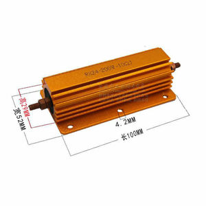 Image 3 - 200W Watt Power Metal resistor 1R 2R 4R 8R 10R 1ohm/2ohm/ 4ohm / 8ohm 10 ohm for tube amp Amplifier test dummy Load