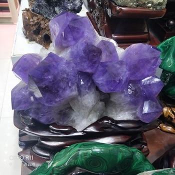 19 quilo de Cluster De Cristal Natural Ametista Caverna Ametista cluster specimen cristal De Quartzo Mineral