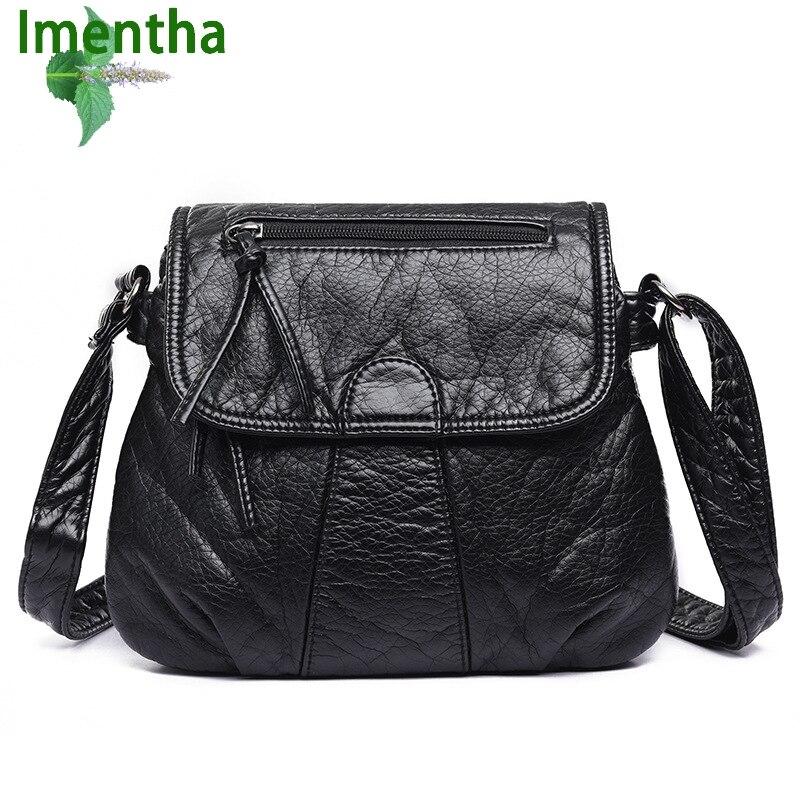 Las mujeres negras bolsas de hombro mujeres messenger bags mujeres cubren los bo