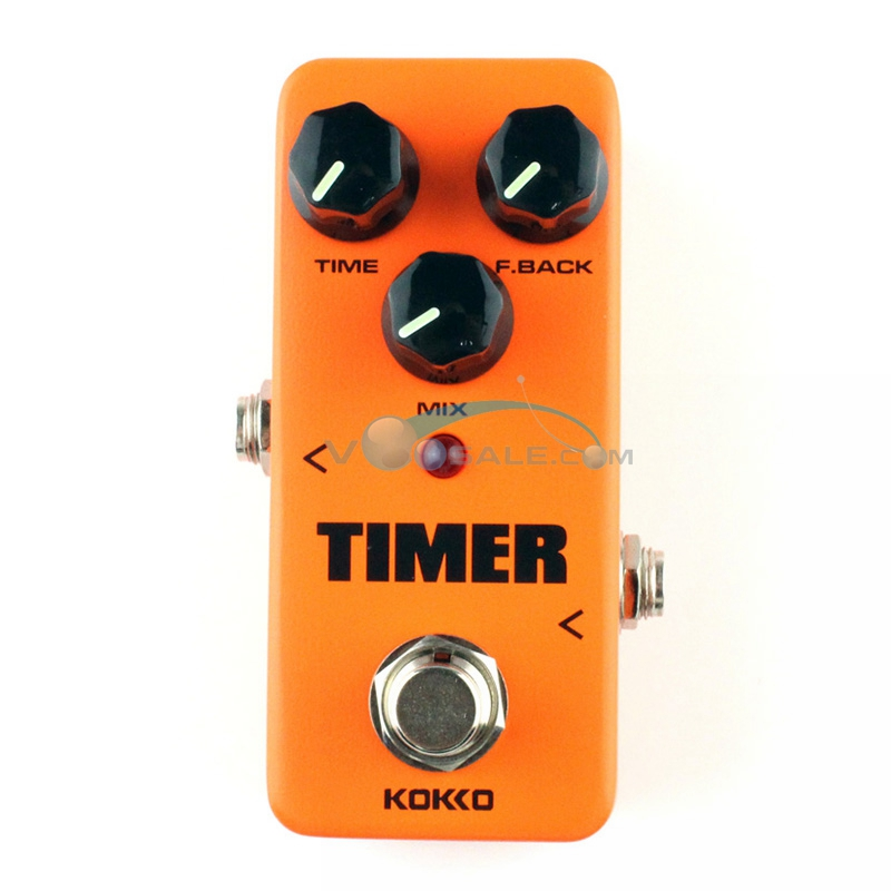 KOKKO FDD2 Timer Delay Guitar Effect Pedal Alta Calidad Portatil Guitar Parts With True Bypass Guitar