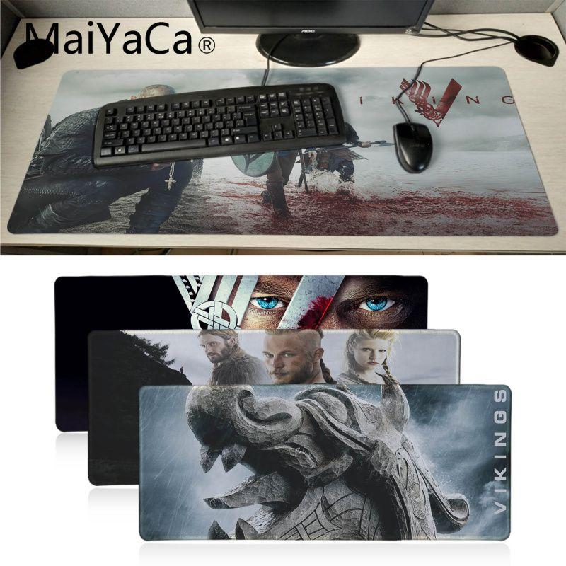MaiYaCa Viking Warrior Customized MousePads Computer Laptop Anime Mouse Mat Anti-Slip Mouse Pad Mice Pad Mat Mousepad Gamer