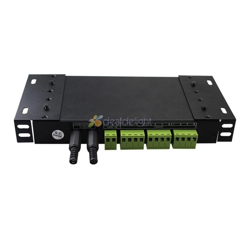 DC12V 24V 18A 3 канальный звук музыка RGB светодиодный контроллер с ИК 20 клавишным пультом дистанционного управления - 2