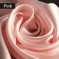 13 Цвет 16 МОММЕ 100% реальная Шелковицы Шелковый шарф шаль люксовый бренд Чистый цвет Китайского шелка негабаритных 175*55 см женщин шарф пашмины