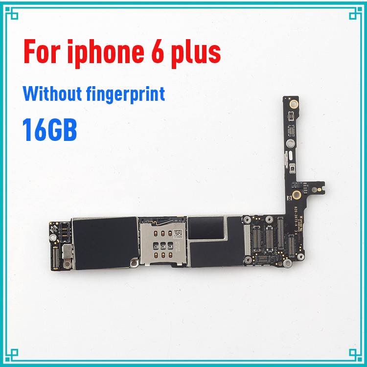 original motherboard for iphone 6 Plus 5.5inch without fingprint 16GB mainboard without Touch ID 100% tested logic board