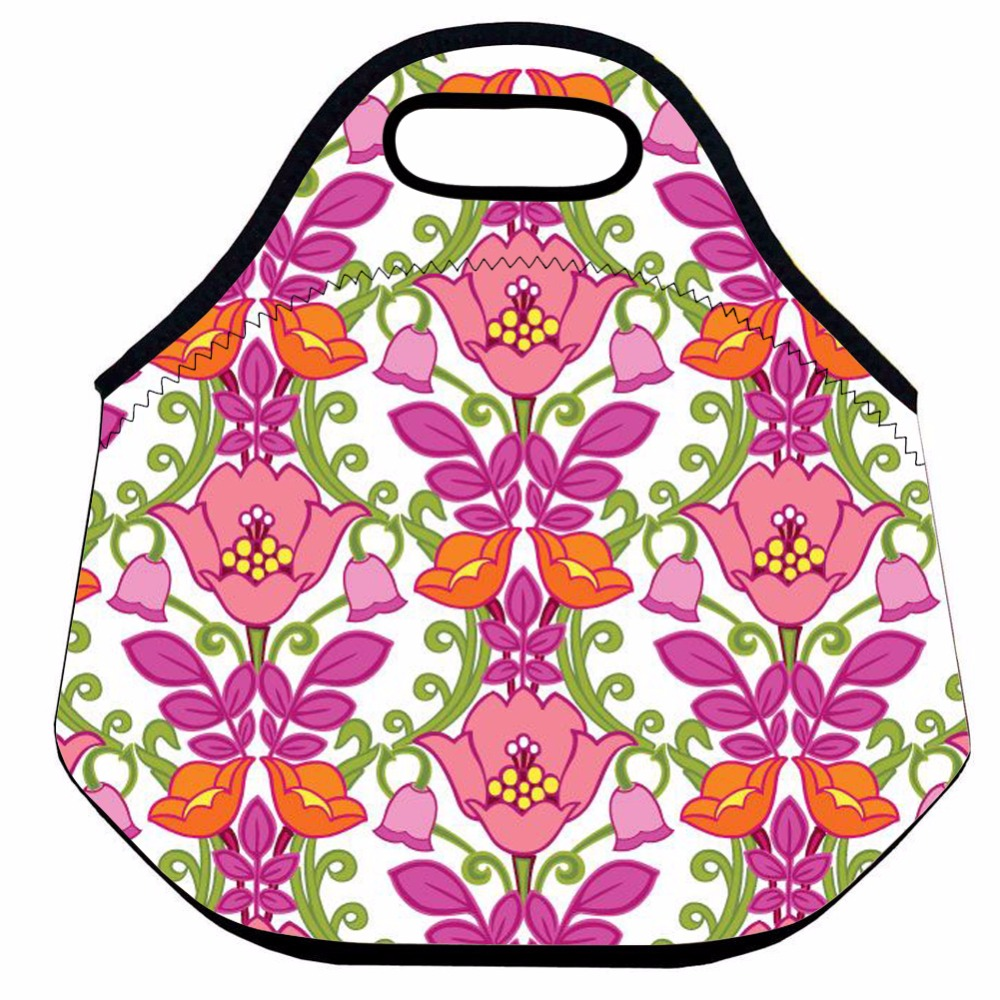Cool Gear Insulated Pink Flowers Lunch Bag