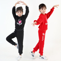 Children Latin Dance Clothing Children Dancewear Cotton Underwear Set