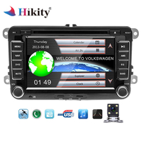 Hikity Car Multimedia player 2 Din Car DVD Automotivo GPS radio stereo player For Volkswagen/POLO/PASSAT/SEAT/Skoda Autoradio