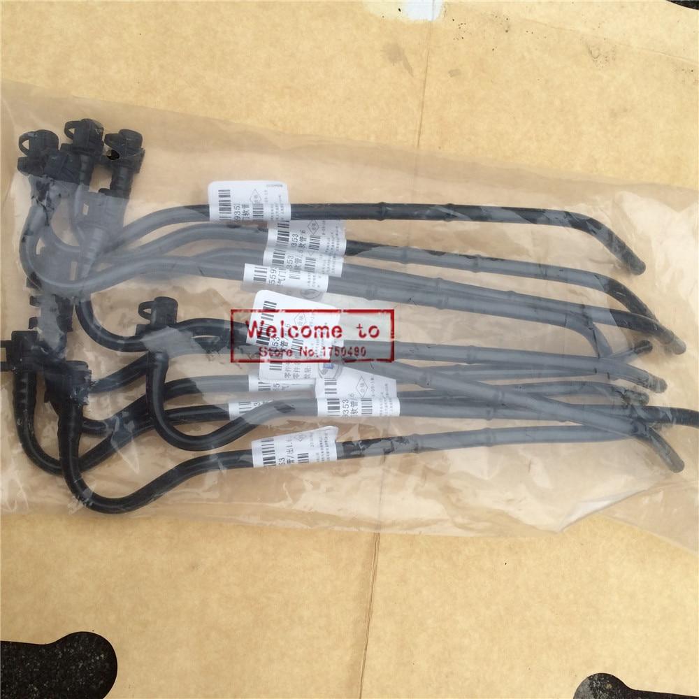 10 pcs lote pecas automotivas termostato mangueira tubo de saida para chevrolet lova cruze1 6