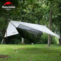 Сверхлегкий 1.5 кг тент палатку Открытый Кемпинг спальный гамак с москитной сеткой кемпинг кровать 1 человек Профессиональный палатки