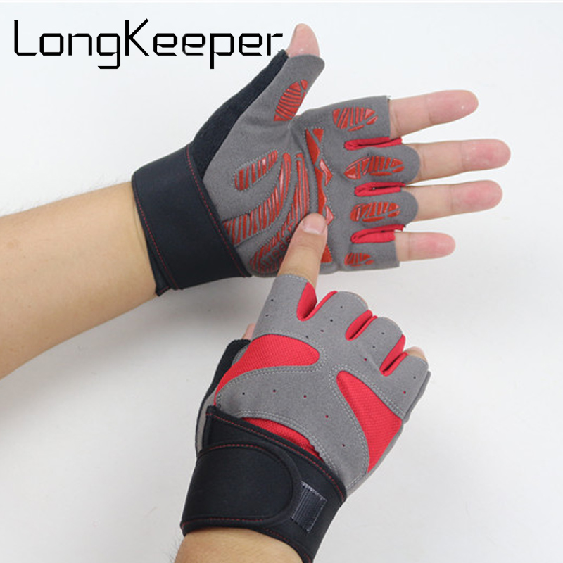 Running Gym Gloves Half Finger Motorcycle Bike Bicycle Riding Cycling Sports Gloves GEL Pad Fitness Sports Gloves G310