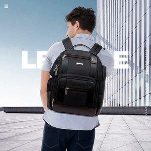 Image 5 - BOPAI marka duża pojemność wiele kieszeni plecak podróżny torba na ramię plecak na laptopa moda męska plecak rozmiar 43*35*20cm