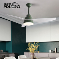 42inch Modern ceiling fan lights restaurant living room home European style lamp fan retro leaf remote chandel Control Hanging