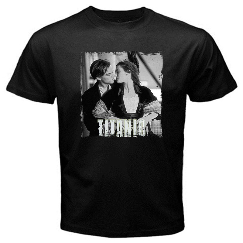 T Shirt Shop Online Crew Neck Men Short-Sleeve Best Friend Titanic Movie Leonardo Shirts