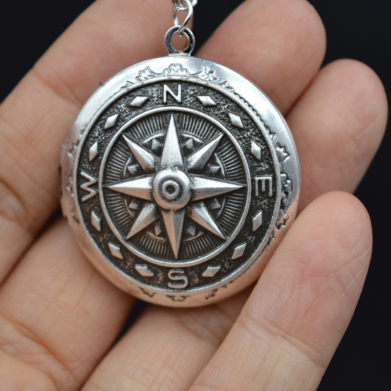 Online Buy Wholesale antique compass necklace from China ...