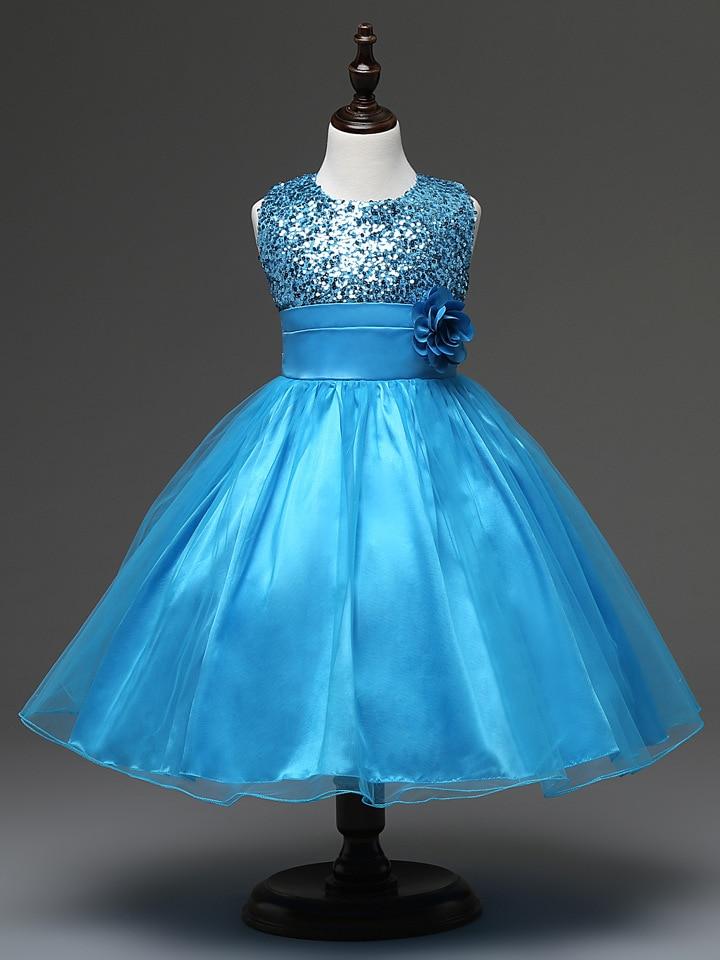 Online Get Cheap Aqua Blue Flower Girl Dresses -Aliexpress.com ...