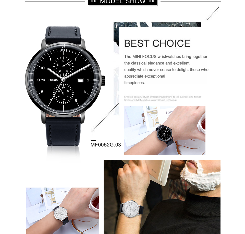 HTB1PrEocpkoBKNjSZFEq6zrEVXaw MINI FOCUS Mens Watches Top Brand Luxury Quartz Watch Men Calendar Bussiness Leather relogio masculino Waterproof reloj hombre