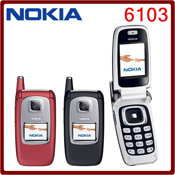 unlocked original nokia 6103 triband bluetooth camera vedio fm jave rh aliexpress com Nokia 3110 Refurbished Nokia Phones