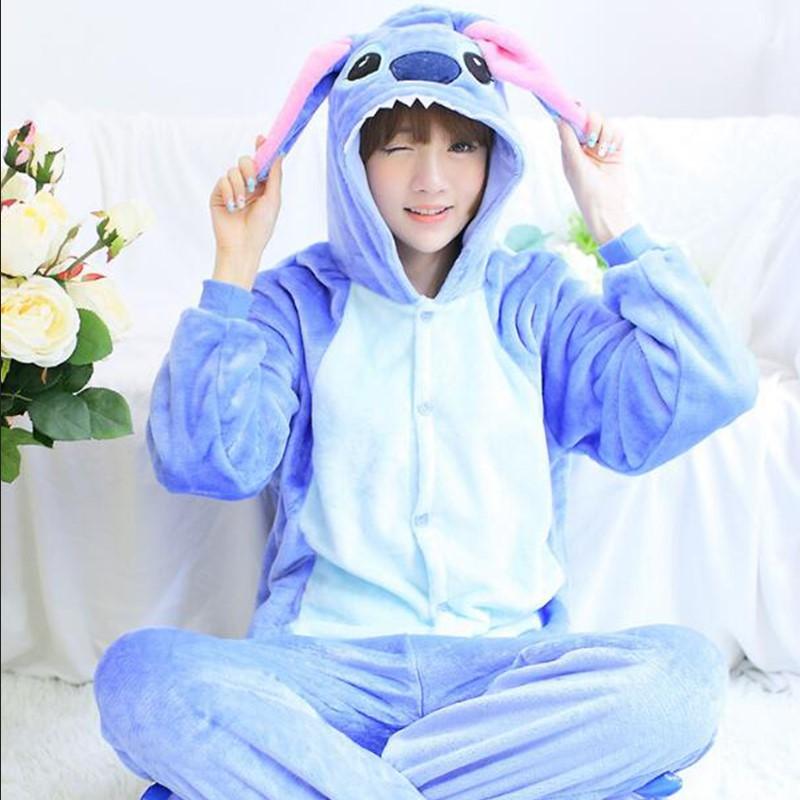 Animal One Piece Sleepwear Pajama Kigurumi Harajuku Pyjamas Home Clothes For Women bathrobe Lingerie Pyjamas Negligee Pug Adult