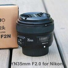 YONGNUO Ulanzi YN35mm F2N F2.0 Lente Gran Angular 1:2 AF/MF Fijo/primer Enfoque Automático Lente para Nikon D3200 D3300 D7100 D5100 DSLR