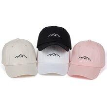 Новая горная шляпа для папы Мужская Женская хлопковая бейсбольная бейсболка с возможностью регулировки размера Кепка s модная кепка для гольфа шапки Bone Garros