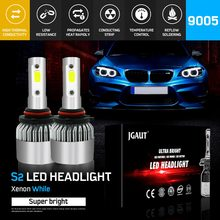 Modifygt S2 H7 Led H4 Led H11 H1 9005 9006 72W 8000LM 6000K 12v COB Car LED Headlight Bulbs Headlamp car accessories(China)