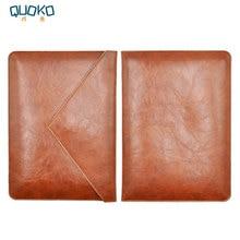 Tablet Sacchetto Della Cassa Del Manicotto In Pelle Microfibra per il 2020 iPad Pro 11 12.9 pollici Con Tastiera Magia, doppia Tasca di Stile Della Busta