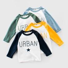 2021 summer Spring Children's wear wholesale boy long-sleeved mother kids clothes T-shirt