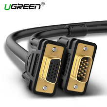 Ugreen VGA Extension Cable 1080P VGA Male to Female Video Adapter Cables with Ferrite Cores for Laptop PC Projector HDTV Display