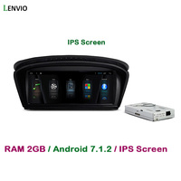 Lenvio 8.8IPS 2GB RAM Android 7.1 CAR DVD GPS PLAYER FOR BMW 5 Series E60 E61 E63 E64 2003 2008 2009 2010 Radio GPS Navigation