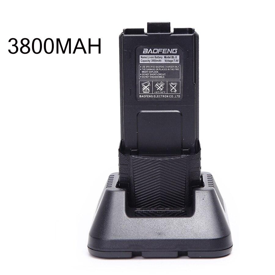 Baofeng UV-5R 8W Powerful Walkie Talkie Portable Comunicador 3800mAh 10KM Long Range cb radio set 8watts UV5R for forest city (12)