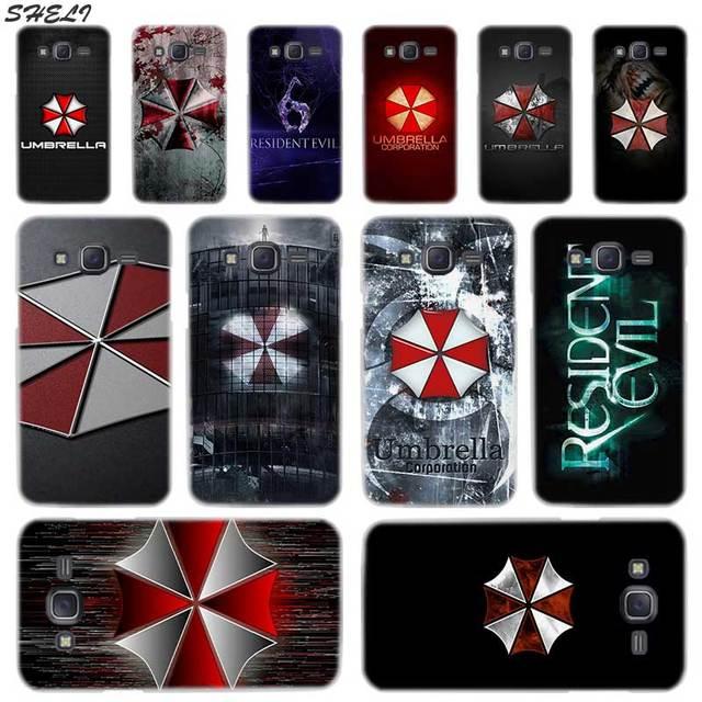Шели Resident Evil зонтик жесткий чехол для телефона для Samsung Galaxy J1 J2 J3 J4 J5 J6 J7 J8 2015 2016 2017 2018 J7 Prime j4 плюс Ace