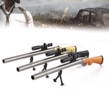 New Sniper Rifle Pen Creative Survival Game Gun Toy Gel Pens Neutral Pen 0.5mm for School Writing Kids Novelty Stationery Gifts(China)
