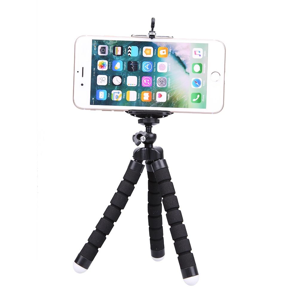 Mini Tripod Phone Holder Mount Selfie Portable Camera Tabletop Travel - Ανταλλακτικά και αξεσουάρ κινητών τηλεφώνων - Φωτογραφία 3