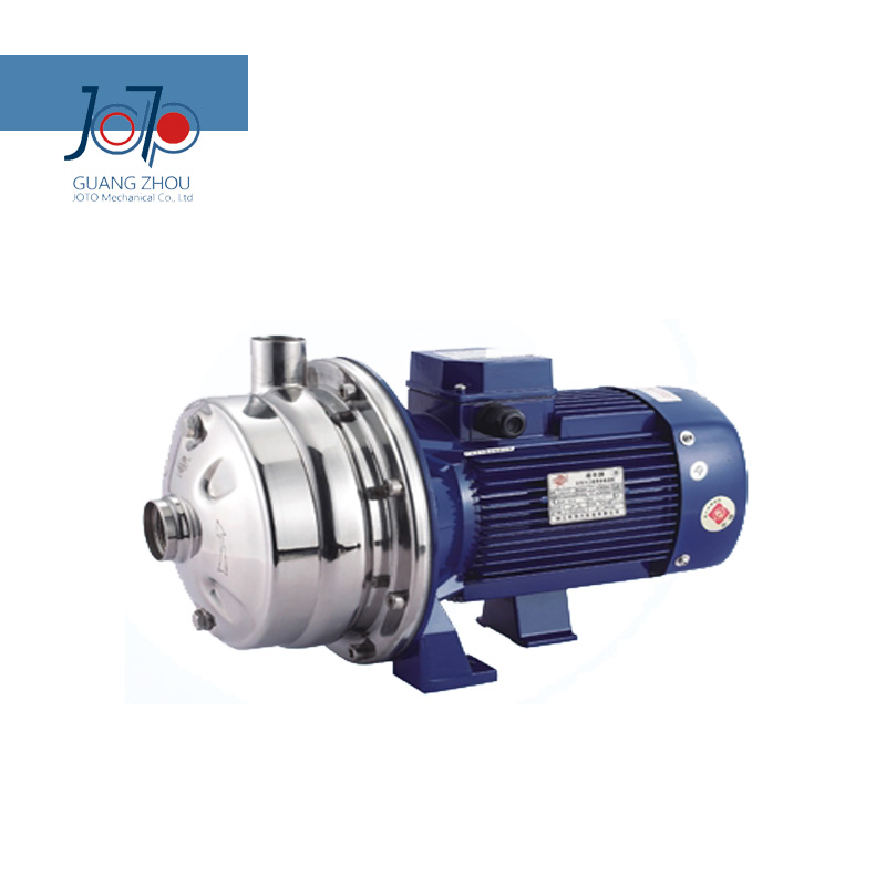 WB2-70/110D 220V 50Hz Single Phase Electronic Stainless Steel Double Impeller Sanitary Centrifugal Pump Food Pump Beverage Use