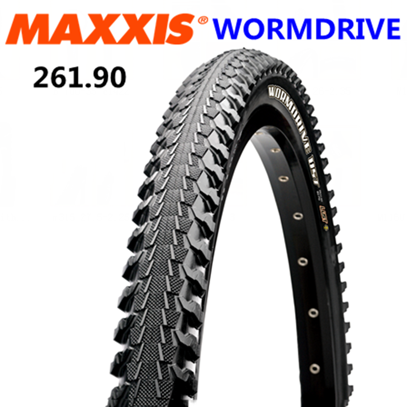 MAXXlS WORMDRIVE bicycle tire 26 1 9 mountain bike worm ultralight tires 26er low resistanc half