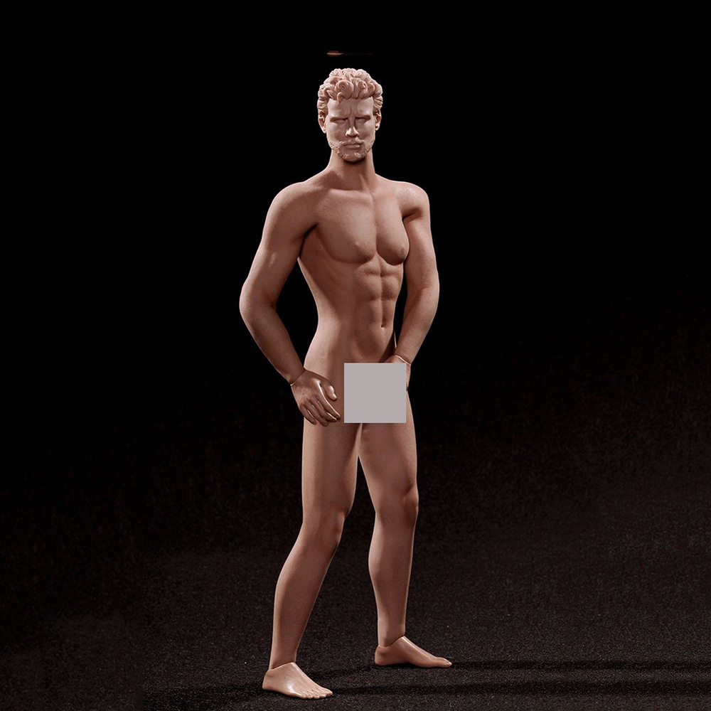 12 Inches Super Flexible Male Nude Muscular Body PL2016-M31 Whitout Head Model Toys Kids Collections for 1/6 Scale Head Sculpts 12 inches male muscular body figures without neck for 1 6 scale mens head sculpts gifts collections toys