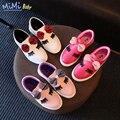 Shoes for kids 2017 весной новые дети Корейский стиль casual симпатичные и удобные мультфильм лук девушки педали ленивые принцесса shoes