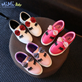 Shoes for kids 2017 spring new children Korean style casual cute and comfortable cartoon bow girls a pedal lazy princess shoes