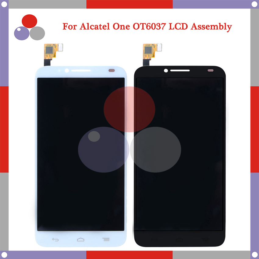 For Alcatel One Touch Idol 2 OT6037 6037 6037Y LCD Screen Display + Touch Screen Digitizer Assembly Free Shipping