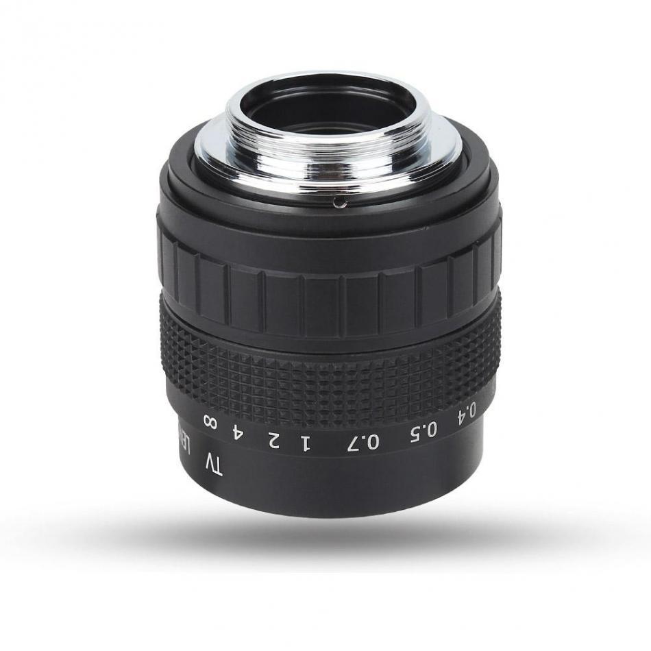 50mm f/1.4 Closed Circuit TV Television Lens Photography Camera Accessory 50mm TV Lens Camera Lens 2018