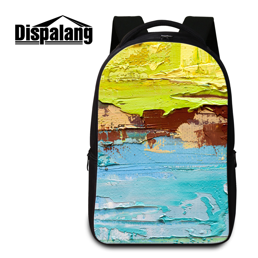 ФОТО Dispalang brand men's laptop backpacks for 14 inch computer notebook new designed women's school rucksack big mochilas book bags