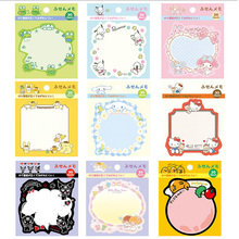 1pcs Kawaii Japanese cartoon  Memo Pad weekly plan Sticky Notes Post stationery School Supplies Planner Paper Stickers 2pcs lot kawaii british style memo pad weekly plan sticky notes post stationery school supplies planner paper stickers